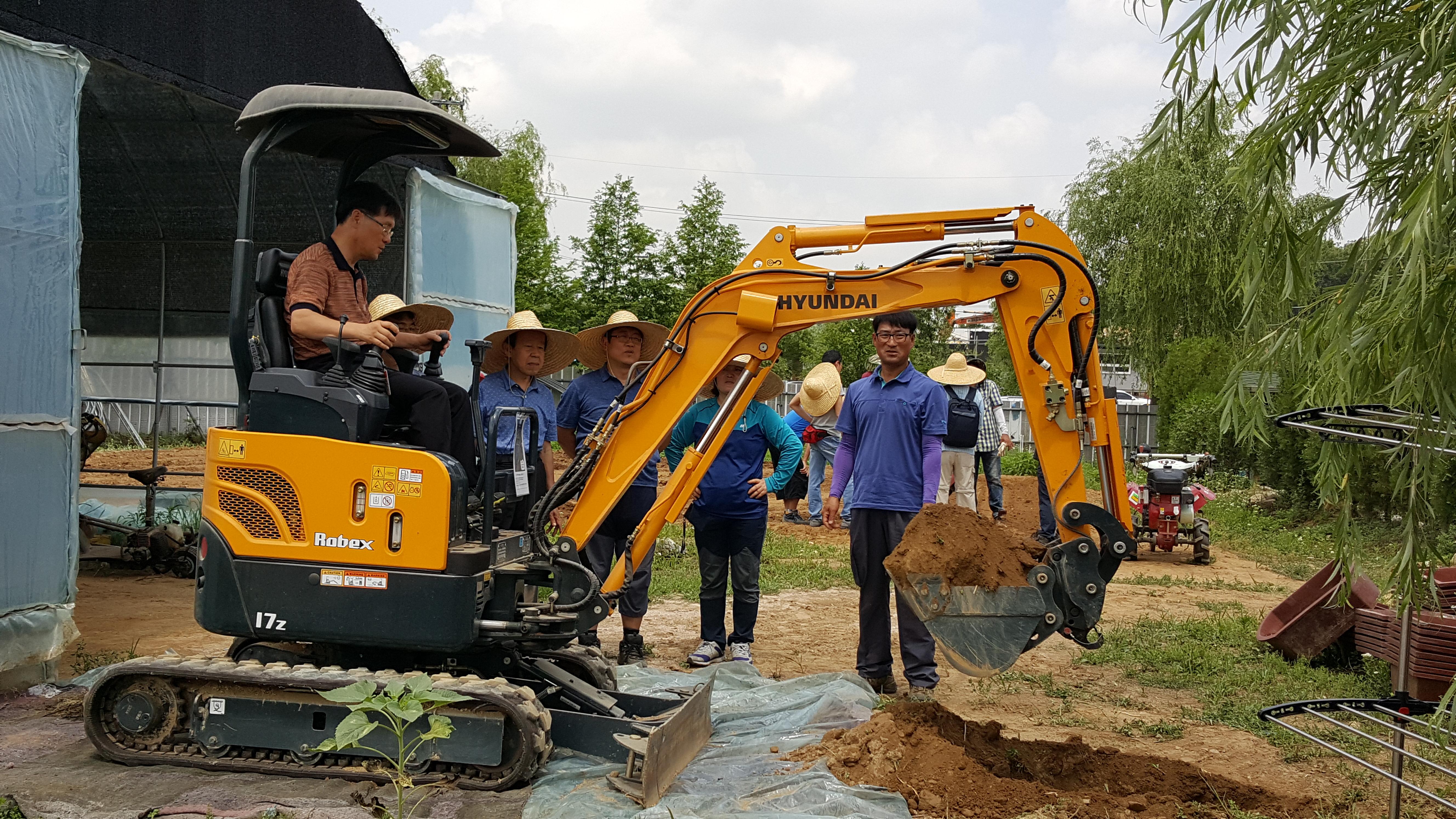 2018 예비농업인 농기계 교육 신청 안내